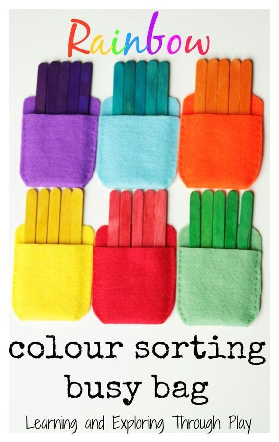Rainbow colour sorting