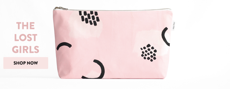 wipes bag Lost Girls Messy Bag by Inkling
