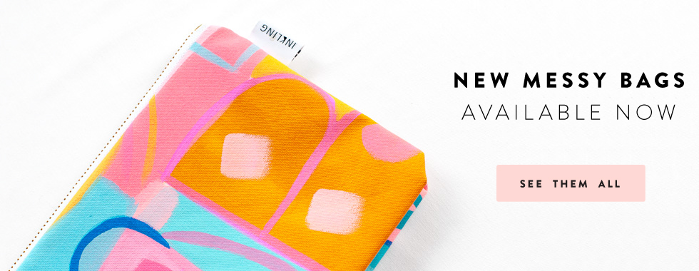 New Messy Bags available now